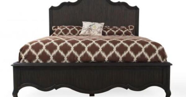 hook 5280 90260 hooker corsica california king panel bed mathis brothers furniture bedroom. Black Bedroom Furniture Sets. Home Design Ideas