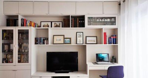 Un 31 M2 Renove Avec Gout Petit Appartement Amenagement Petit Salon Appartement