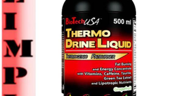 Biotech Usa Thermo Drine Liquid 500ml Spalacz 4455951913 Oficjalne Archiwum Allegro Liquid Thermos Supplement Container