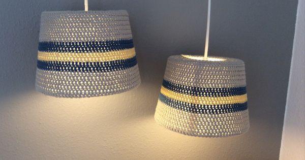 h klet lampesk rm til ikea lampe gratis opskrift strik. Black Bedroom Furniture Sets. Home Design Ideas