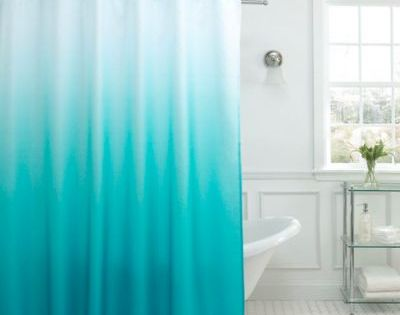 Buy Turquoise Fabric Shower Curtain From Bed Bath Amp Beyond