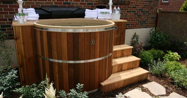 Our 5 Feet Diameter 4 Feet Deep Cedar Hot Tub Kit Is