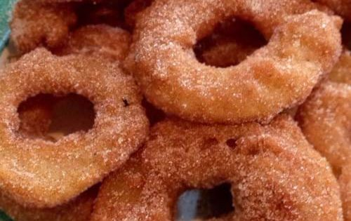 Crispy Apple Fritter Rings | Recipe | Apple Fritters, Fritters and ...