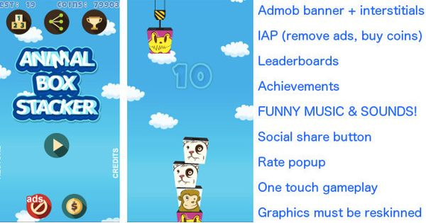 Tower Build Funny Admob Iap More By Fifdee New Year 2017 Sale