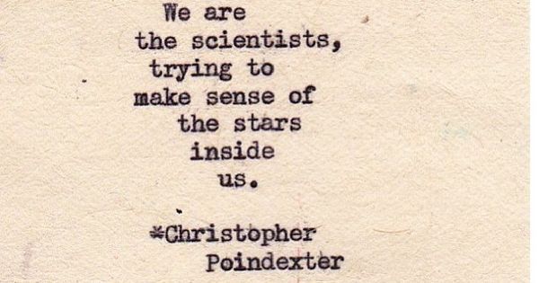 Romantic Universe poem written by Christopher Poindexter ...