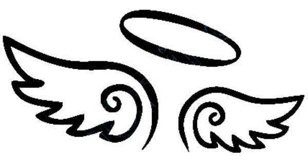 Best Cute Small Angel Wing Tattoo Design Idea 2016 Description