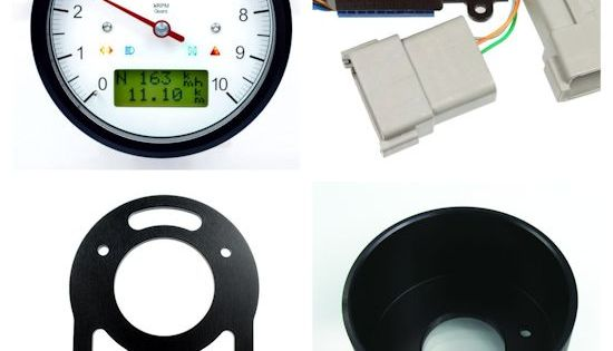 Motogadget Speedometer And Tachometer Gauge Cluster For