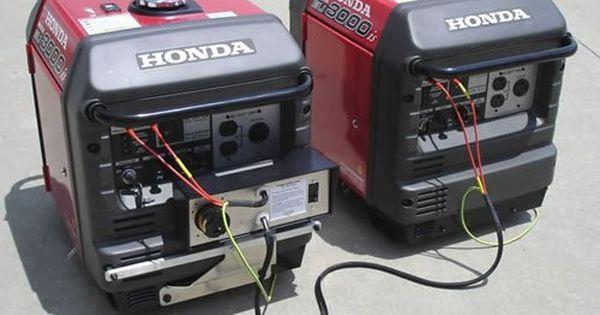 Honda Eu3000is 3000 Watt Portable Inverter Generator Parallel Power Up Honda Generator Portable Inverter Generator Furnace Repair