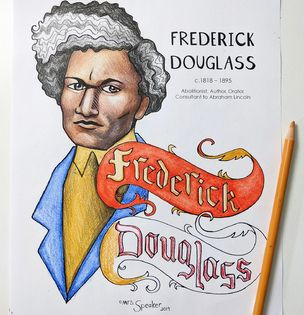 Frederick Douglass Coloring Page By Mrsspeaker Tpt Coloring Pages Frederick Douglass Frederick