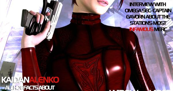 Mass Effect Alison Gunn By Kaanamoonshadow Con Imagenes