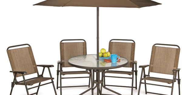 Six Piece Steel Patio Set Old Time Pottery Pinterest More Patios Gardens And Yards Ideas
