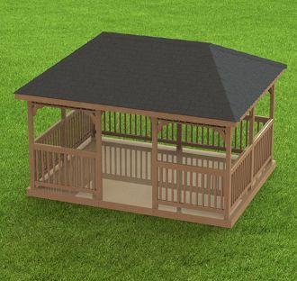 Garden Gazebo Building Plans I Hip Roof 12 X 16 Hip Roof Gazebo Garden Gazebo