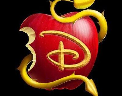 Disney Quot Descendants Quot Apple Logo On Black Disney S