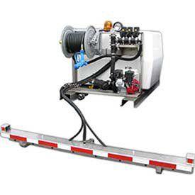 Deicing Sprayer 200 Gallon 5 Hp Ge85 Pump 75 Of 12 Hose Manual Reel 6 Ecoboom For More Information Visit Image Link With Images Sprayers Gallon Hose