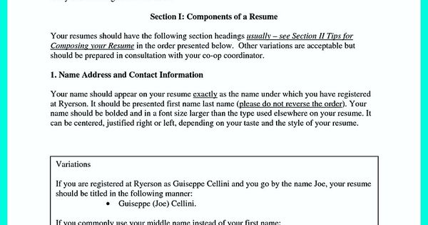 awesome The Best Computer Science Resume Sample Collection, resume - how you do a resume