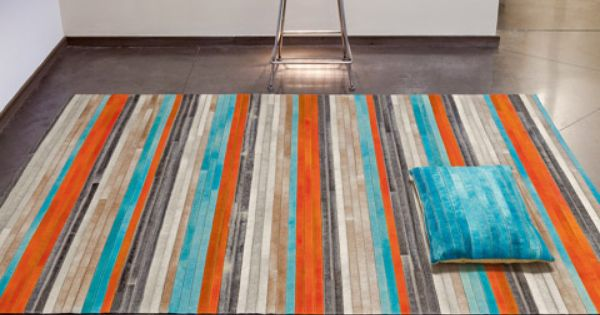 Orange Amp Turquoise Rug Complementary Orange Amp Blue