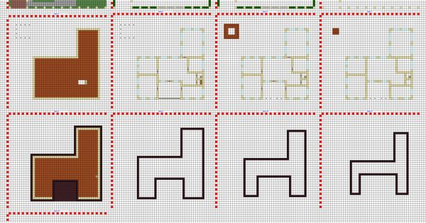 Minecraft modern house blueprints layer by layer google for How to find blueprints of a house