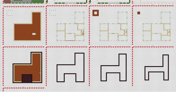 minecraft modern house blueprints layer by layer google