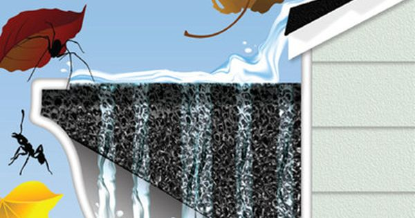 Protect Your Rain Gutters With This Easy To Install Gutter