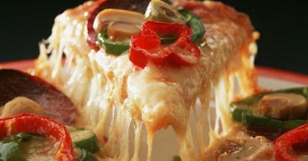 وصفة بيتزا هت طريقة عمل بيتزا هت Mix Pizza Food Perfect Pizza