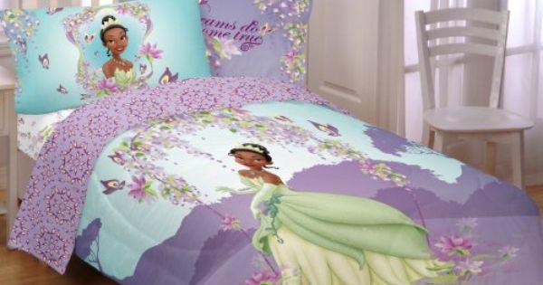 Disney Princess And The Frog Sunset Dreams Printed Twin Princess And The Frog Sheets