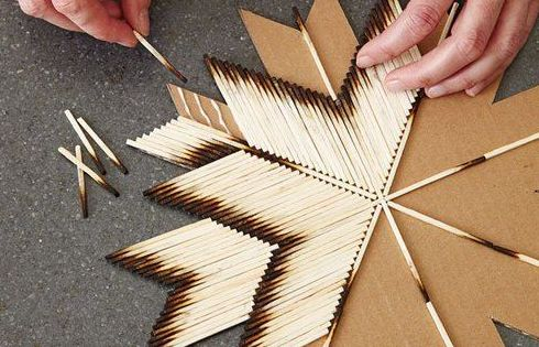 DIY craft via Pinterest seen on Simply Groveart