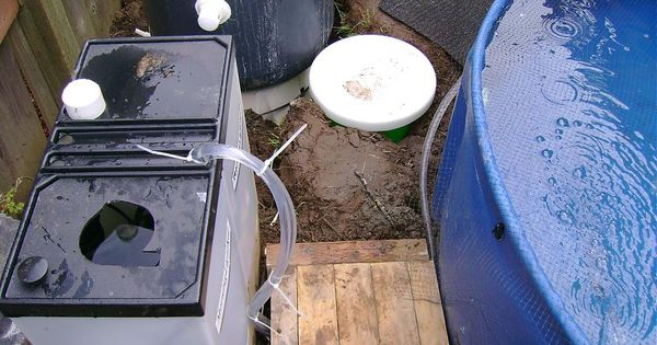 I had to build something koi pond pinterest koi for Koi intex pool