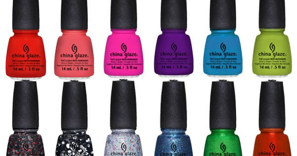Brighten up a winter manicure with these fun colors! nails nail fashion