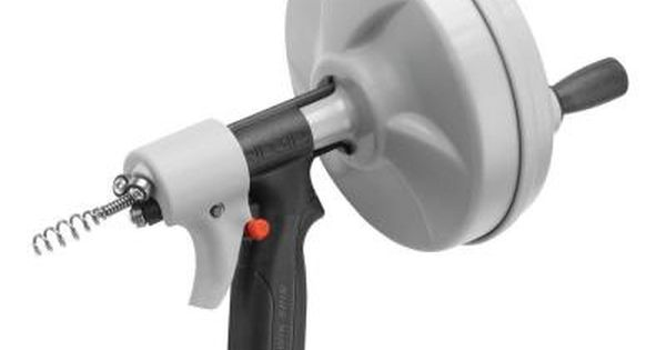 Ridgid Kwik Spin 41348 At The Home Depot With Images Drain Cleaner Clogged Drain Cleaning Tools