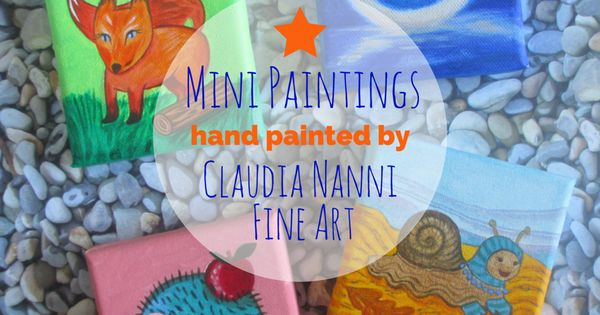 Claudia Nanni Fine Art on Etsy and TicTail