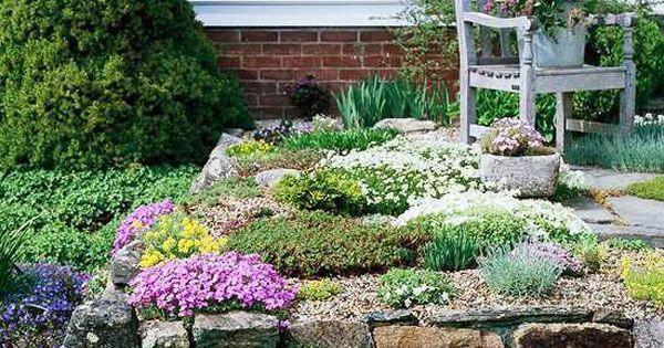 Créez un espace de verdure dans votre jardin de rocaille  Jardins ...