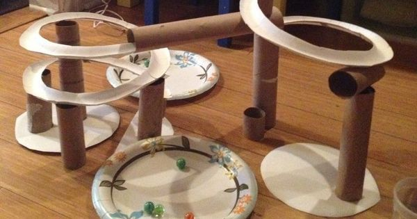 Paper Roller Coaster Project Google Search Kid Crafts