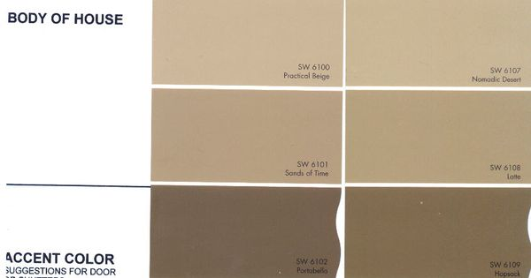 Beige Color Chart | The Preserve Architectural Review ... Beige Color Chart