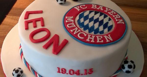 Bayern München Torte Kuchen Pinterest Bayern