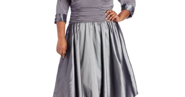 Silver Grey Plus Size Mother Of The Bride Dress By Jessica