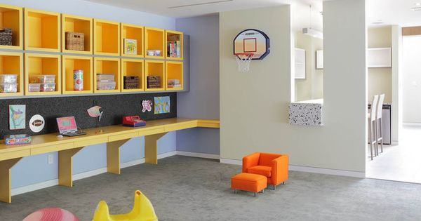 Like Floating Desk Corkboard And Yellow Cubes On A Smaller Scale For Kids Study Area Kids