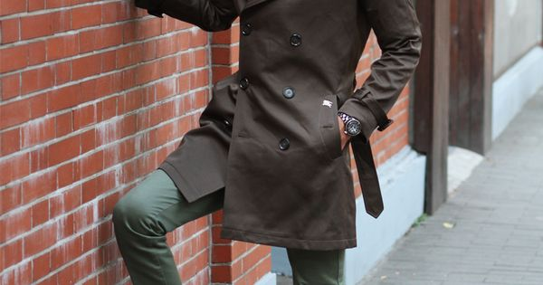 Burberry trench coat vintage jeans shirt Incotex chinos Goyard bag ообббууувьььь!