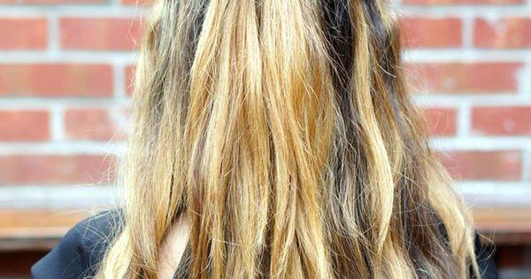 Demi queue bb 50 coiffures faciles et rapides elle coiffures pinterest coiffures - Demi queue chignon ...