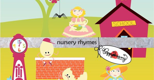 clipart pictures of nursery rhymes - photo #21