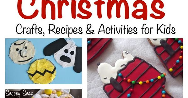 charlie brown christmas writing activity for kids