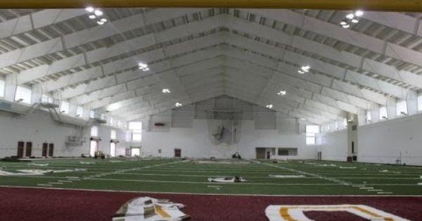 First Look Inside Albert J Dunlap Athletic Training Facility Indoor Soccer Field Softball Training Athletic Training