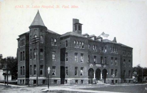 St Luke S Hospital St Paul Minnesota 1911 St Paul Minnesota Minnesota Home Minnesota