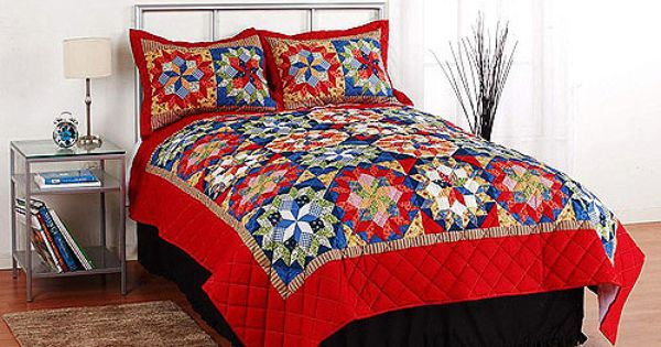 Mainstays Quilt Collection Shooting Star Gardens Home