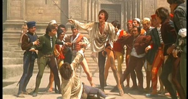 an overview of the tybalts fight with romeo in romeo and juliet a play by william shakespeare William shakespeare's romeo + juliet tybalt spots romeo and vows to kill him for the success of any adaptation of a shakespeare play is determined by.