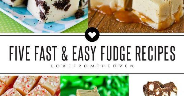 Fast And Easy Fudge Recipes | Easy Fudge, Fudge Recipes and Fudge