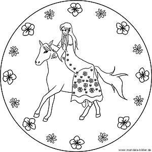 Prinzessin Mandala Zum Ausdrucken Und Ausmalbild Mandala Zum Ausdrucken Ausmalen Ausmalbilder Zum Ausdrucken Kostenlos