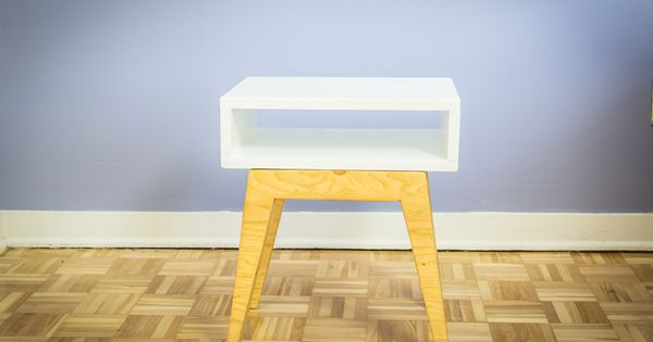comment fabriquer une table de chevet scandinave ep13 meubles fabriquer diy pinterest. Black Bedroom Furniture Sets. Home Design Ideas