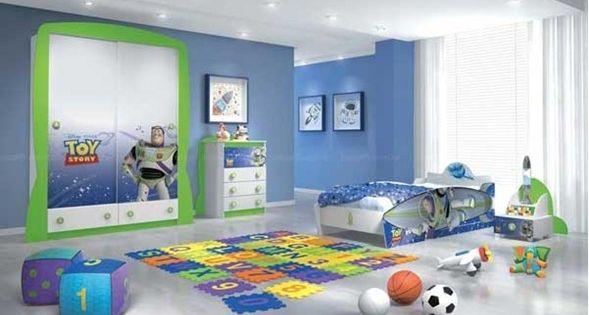 Que colores usar para pintar un dormitorio de ni o - Colores habitacion nino ...