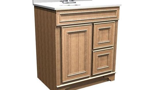 "Briarwood 30"" W x 18"" D x 34 1 2"" H Highland Vanity Drawers Right"