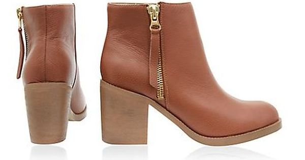 Buty Botki New Look Leather R 37 38 39 40 42 36 5930974195 Oficjalne Archiwum Allegro Boots Ankle Boot Shoes